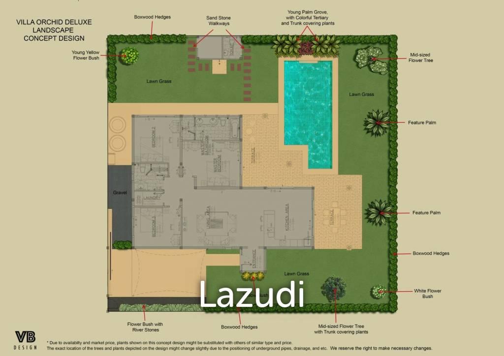 3 Bed 2 Bath Villa 167 SQM, Mali Signature by Orchid Palm Homes