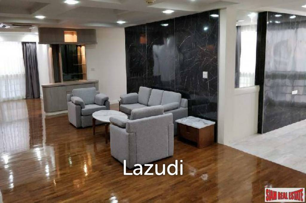 President Park   Three Bed Renovated Condo for Sale at Sukhumvit 24