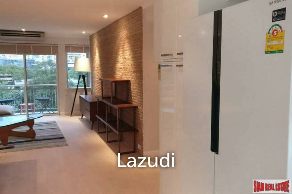 Rain Tree Villa | Recently Renovated Two Bedroom Condo with Two Balconies in Thong Lo
