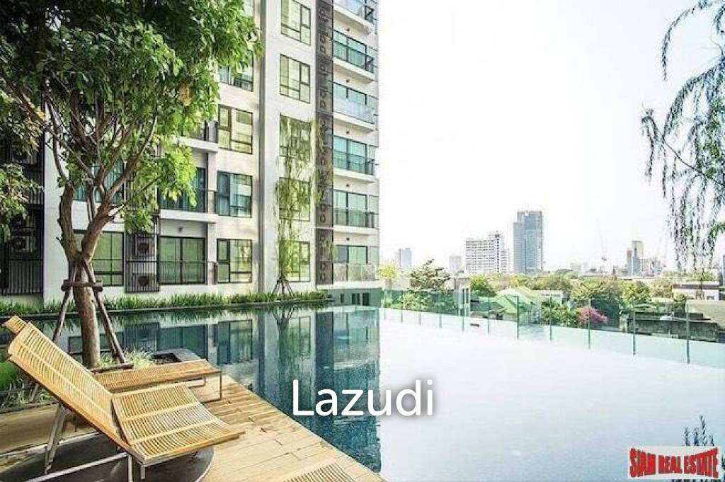 Rhythm Sukhumvit 36-38   Quality Thong Lo Studio Condo for Sale with Clear City Views