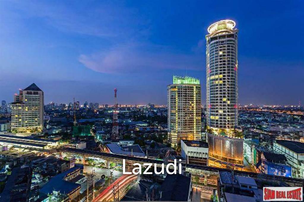 Sky Walk Condo   Large Quality Studio Condo - Unblocked Views on High Floor & Close to BTS Phra Khanong