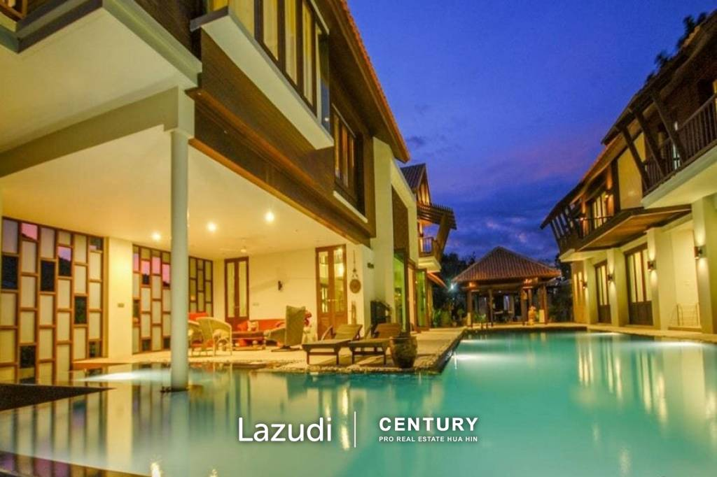 5 Bed Pool Villa on Golf Course