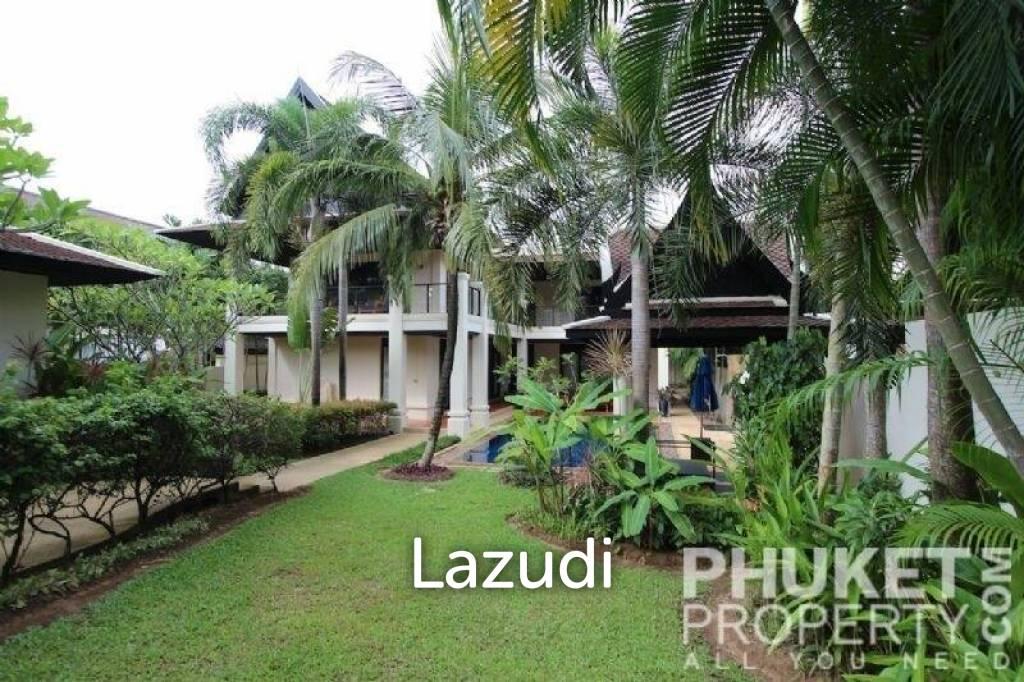 Layan; 4 Bed Pool Villa, Garden View