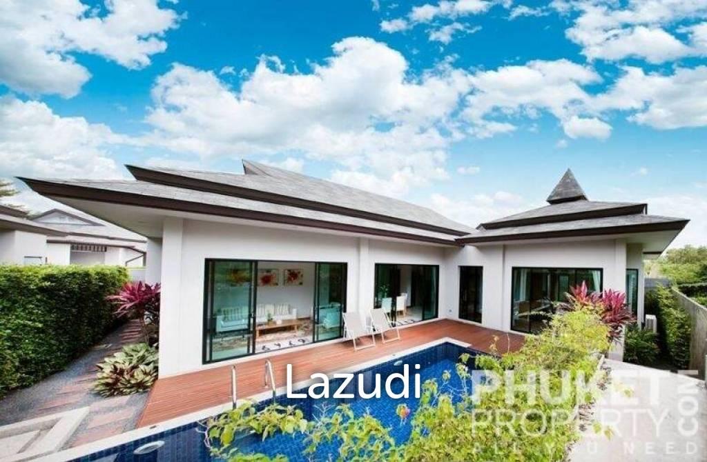 Layan: 3 Bed Estate Pool Villa