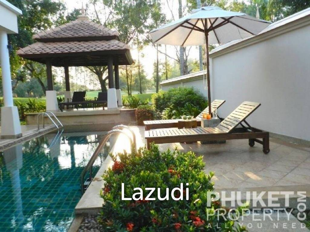 Laguna; 4 Bed Villa, Pool, Golf View