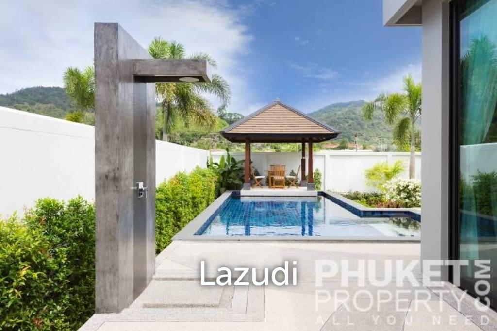 Thailand, Phuket, Nai Harn; 3Bed Modern Pool Villa in Nai Harn