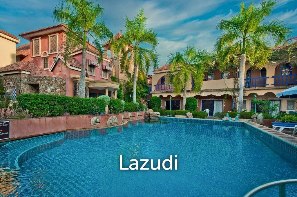 Unique Mediterranean Tuscany-Style Resort For Sale Near Mabprachan Lake