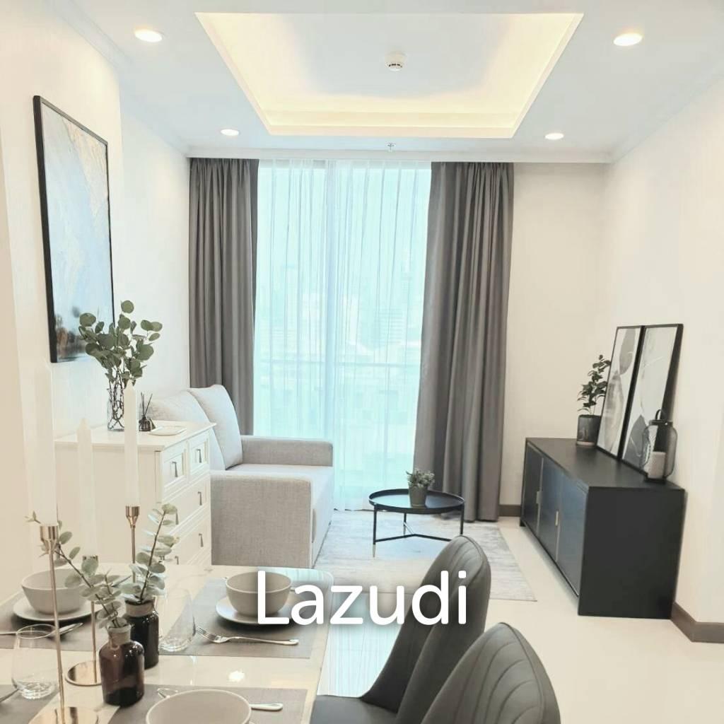 Supalai Oriental Sukhumvit 39 / Condo For Rent / 2 Bedroom / 46.5 SQM / MRT Phetchaburi / Bangkok