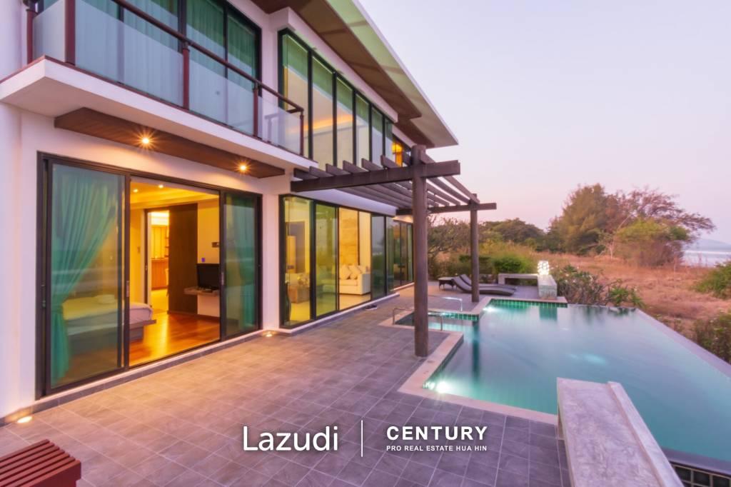 Modern 4 Bed Beachfront Pool Villa