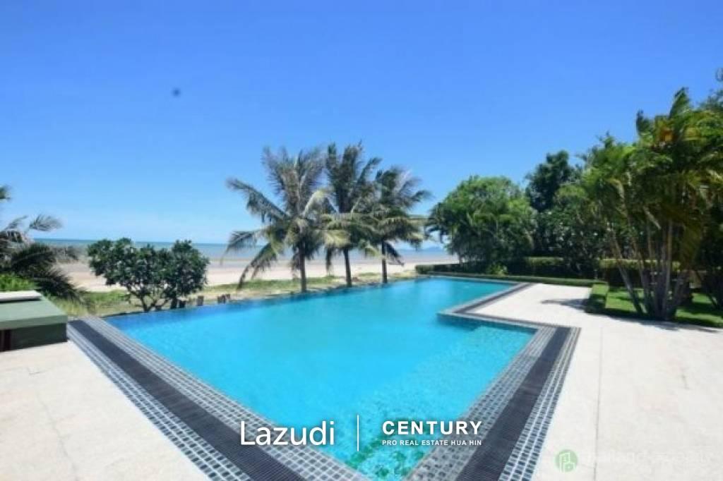 Absolute Beachfront Pool Villa