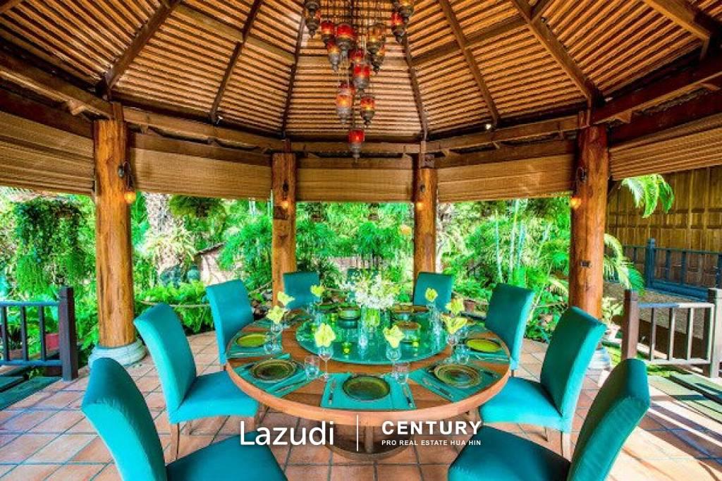 PALM HILLS HOMES : Highest Quality Bali Pool Villa with Lake & Golf Views