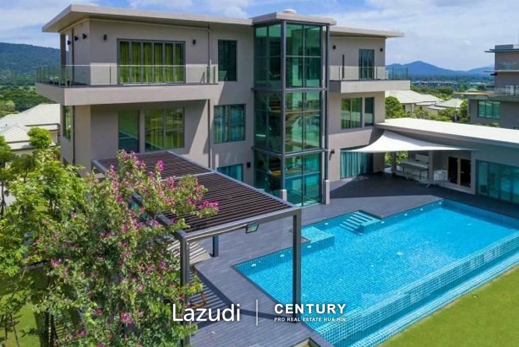 BLACK MOUNTAIN: Four Story Villas