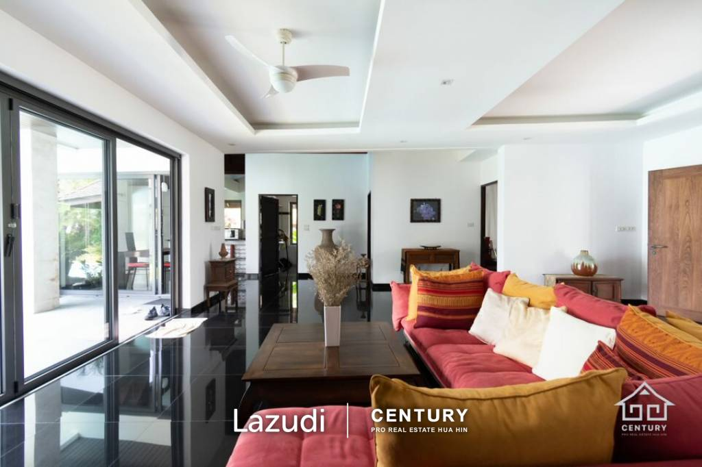 Absolute Beachfront Beautifully designed 4 Bed Pool Villa