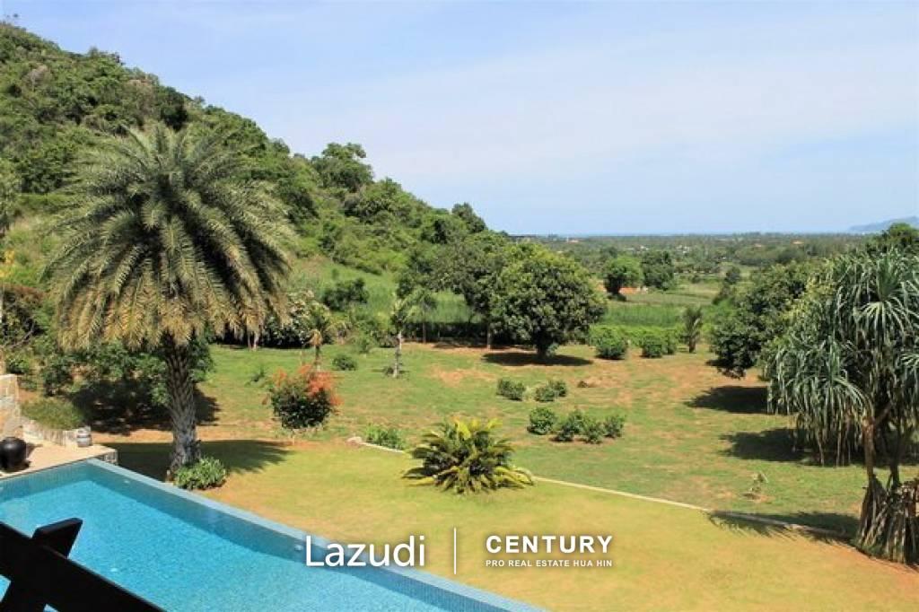 Magnificent 24 rai Estate with stunning panoramic views in Kao Kalok