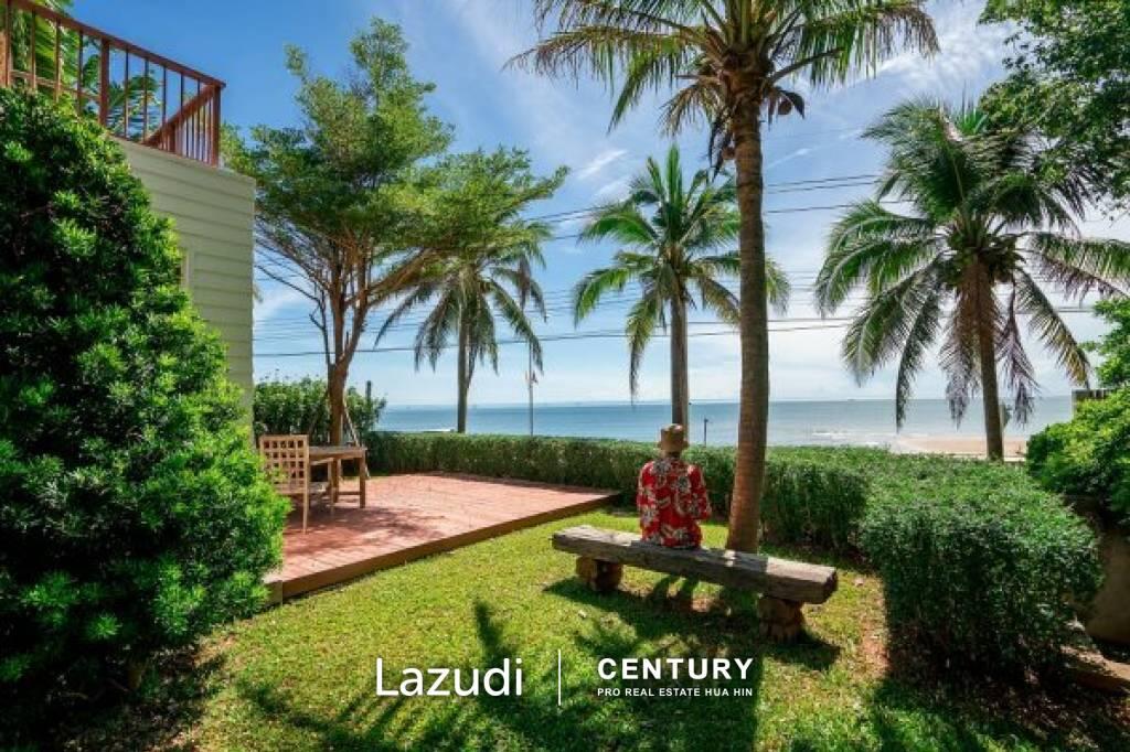 PRAN A LUX : Beachfront Pool Villa in Pranburi