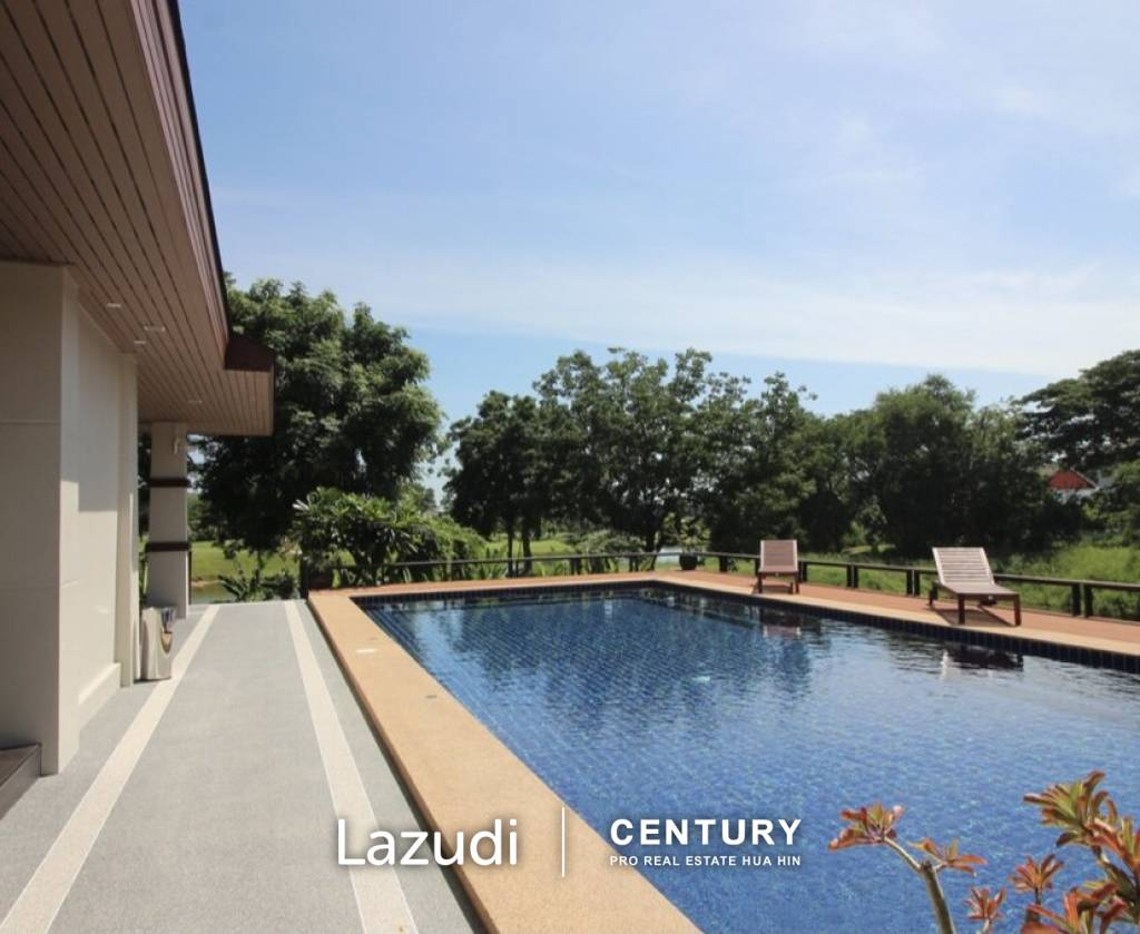 PALM HILLS HOMES : Luxury 5 bed Pool Villa on Golf Course
