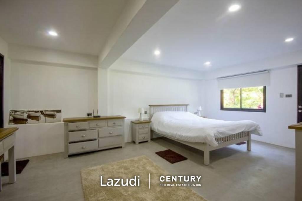 Modern 6 Bed Pool Villa on Large Land Plot