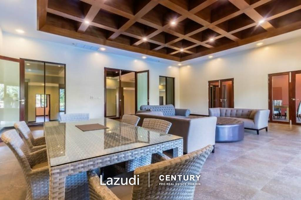 PALM HILLS HOMES : Magnificent 6 Bed, Recently Completed Villa with Best Views on Palm Hills Golf Course