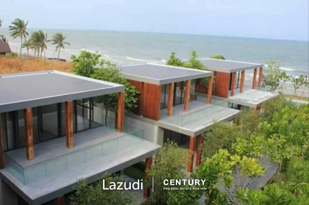 Modern 3 Bed Beachfront Villa