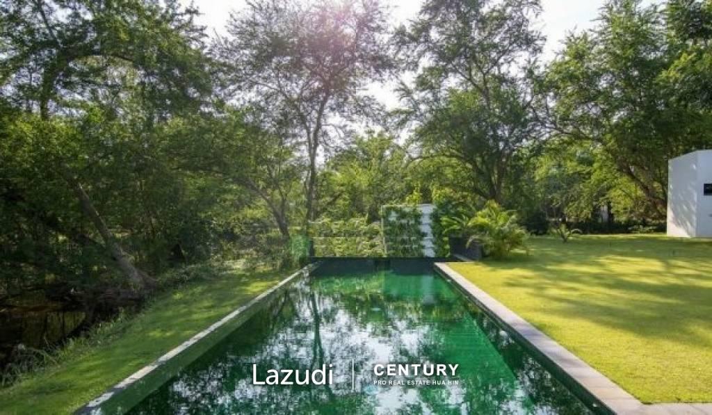 OMDOMUS: 7 Bed Solar Pool Villa on 2 Rai of Land Plot