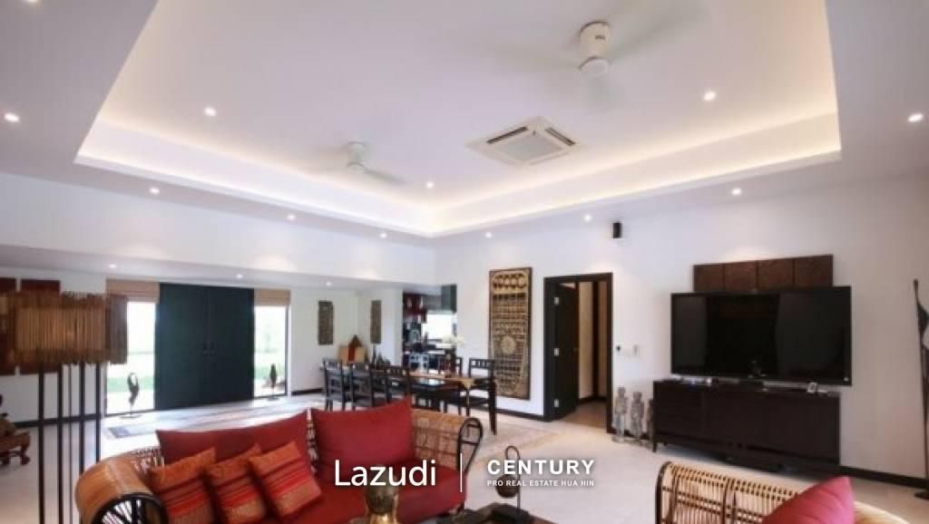 BLACK MOUNTAIN : Luxury 3 Bed Pool Villa