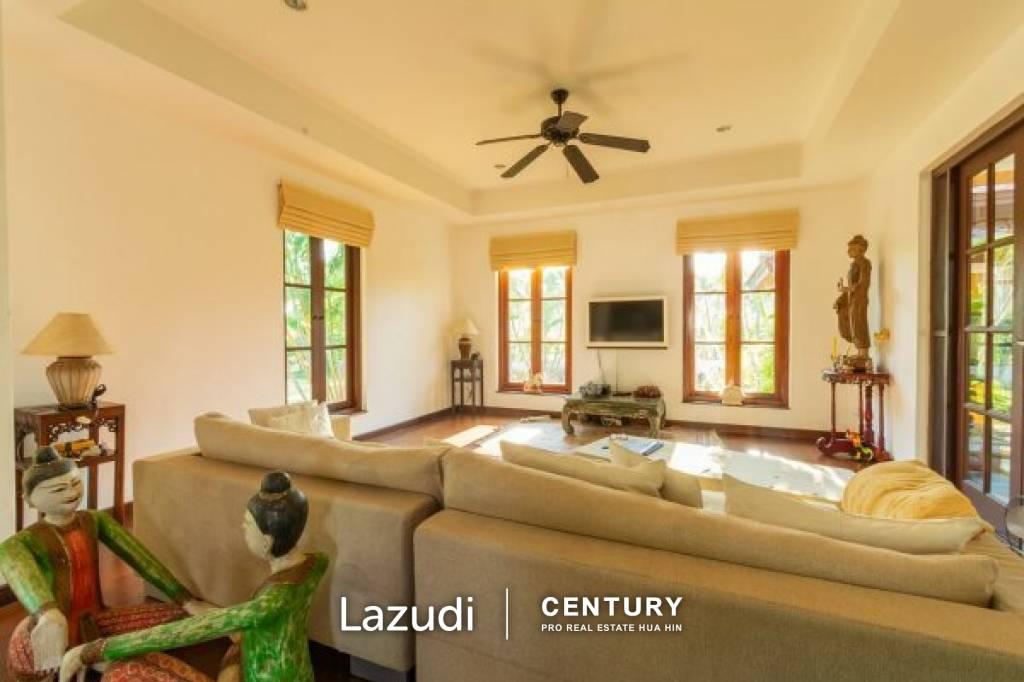 SANUK RESIDENCES : Luxury Bali Pool Villa With Lake in Hua Hin