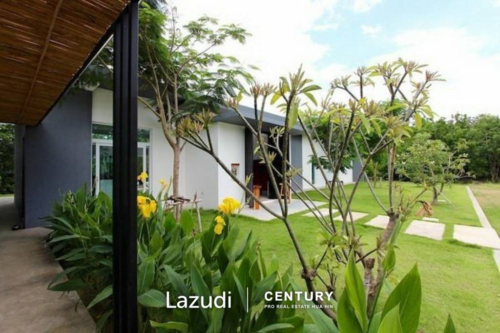 OM DOMUS : Well-built Modern 4 Bed Pool Villa
