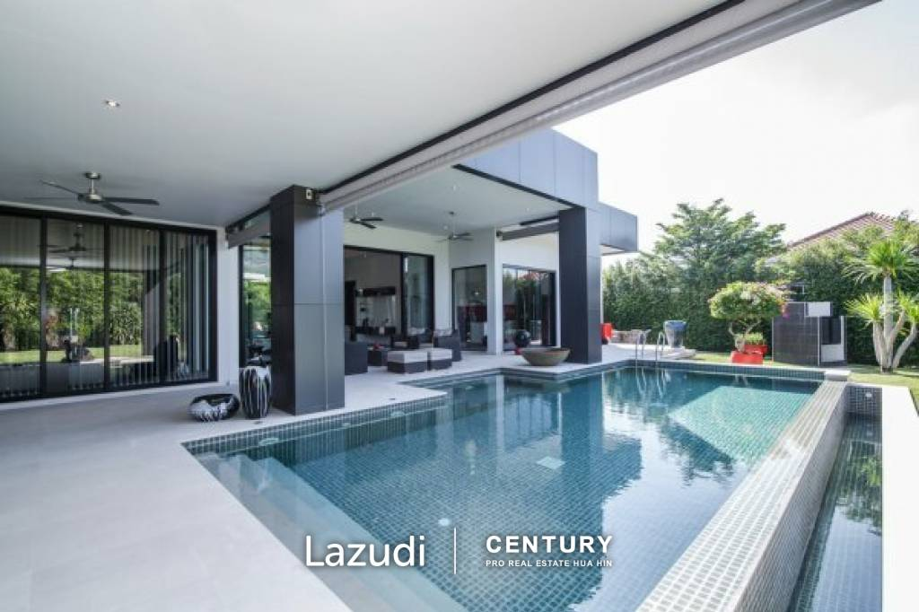 BAAN ING PHU: Stunning 4 Bed Pool Villa in a Luxury Private Estate with Spacious Guest Wing