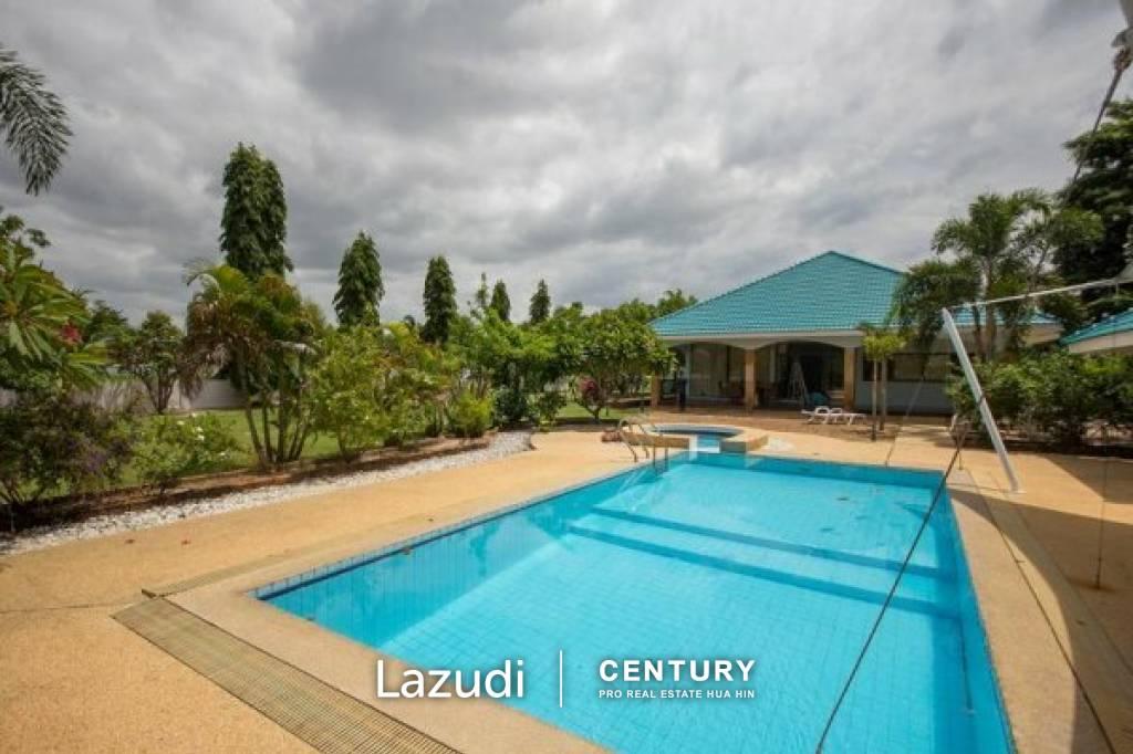 PALM HILLS: Luxury 4 Bed Pool Villa