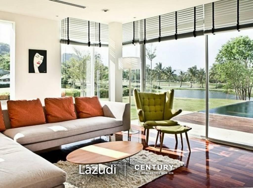 PALM HILLS HOMES : Villa Palm Spring Inspired (Lifetime Golf Membership)