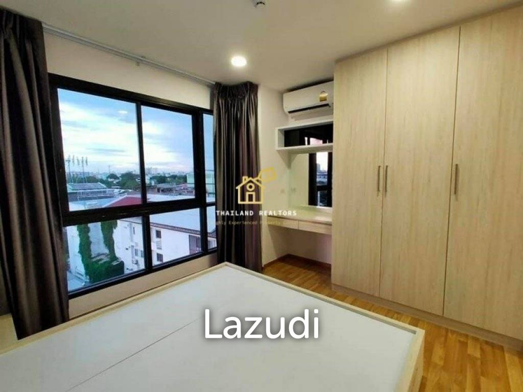 Green Ville II Condominium / Condo For Rent and Sale / 1 Bedroom / 36.75 SQM / BTS Punnawithi / Bangkok