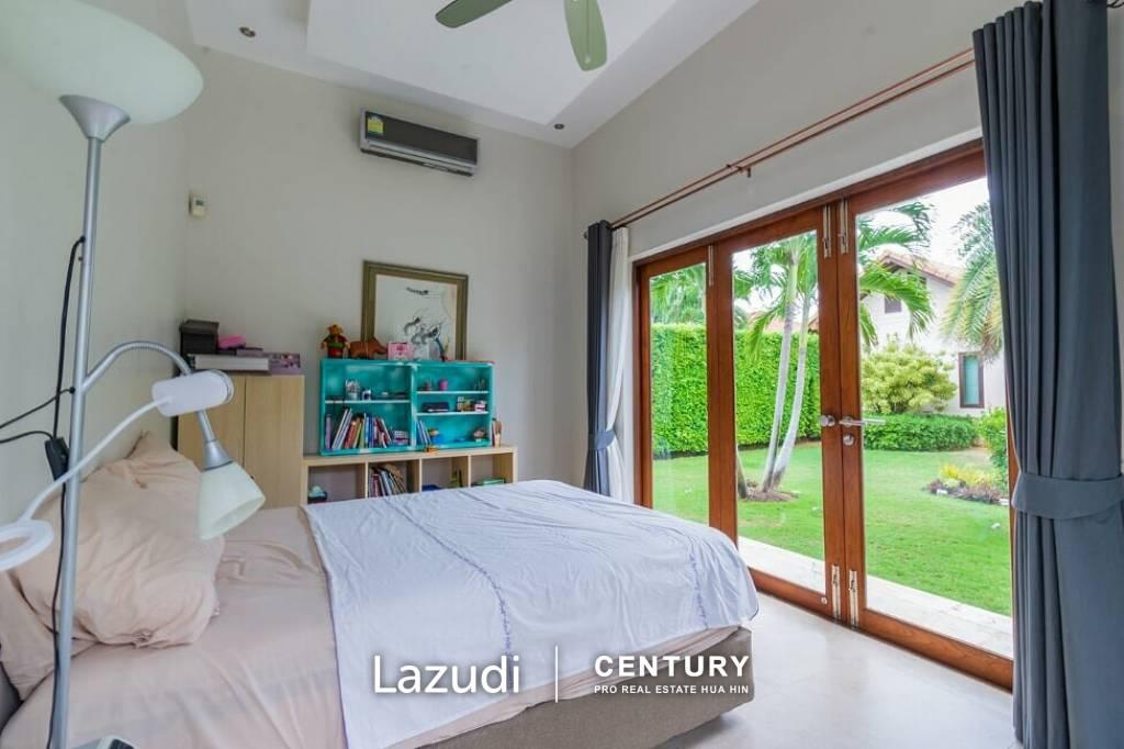 HANA VILLAGE 1 : High Quality 6 Bedroom Pool Villa less than 2km from pristine beaches.