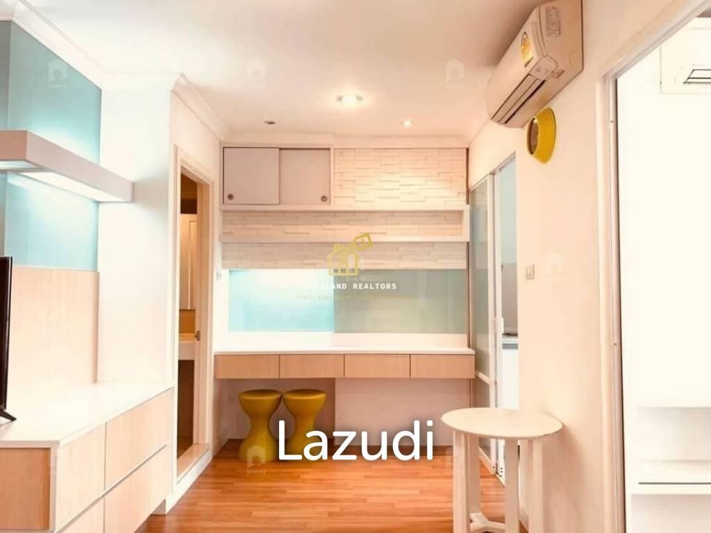 Lumpini Place Rama IX-Ratchada / Condo For Rent and Sale / 1 Bedroom / 34 SQM / MRT Phra Ram 9 / Bangkok