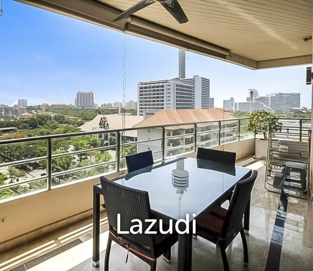 Sea View - One Bed Corner Unit At View Talay 3