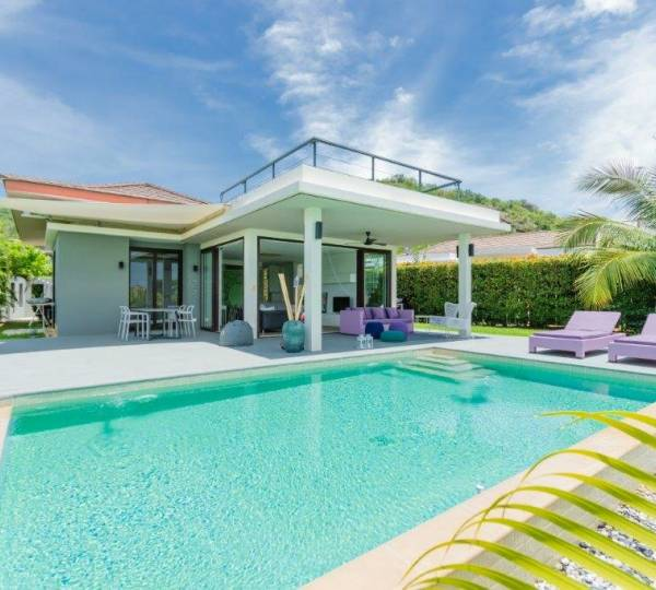 THE SPIRIT : Beautiful 2 bed pool villa with sea views