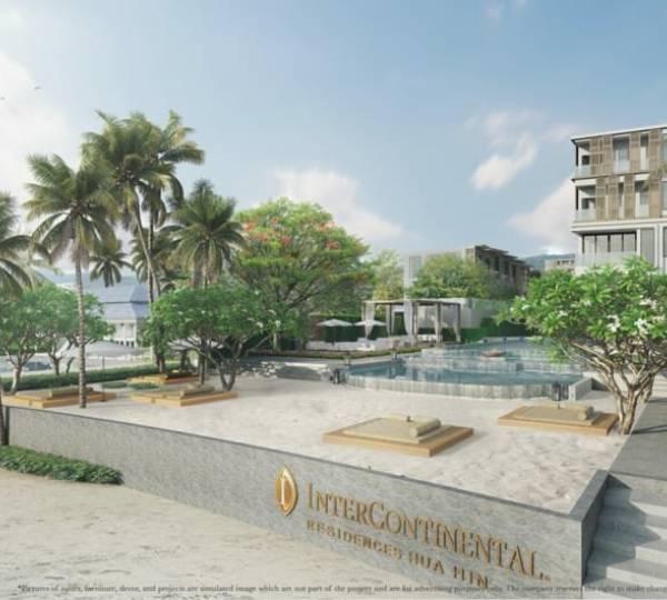 1 bed 45SQM Intercontinental Residences Hua Hin