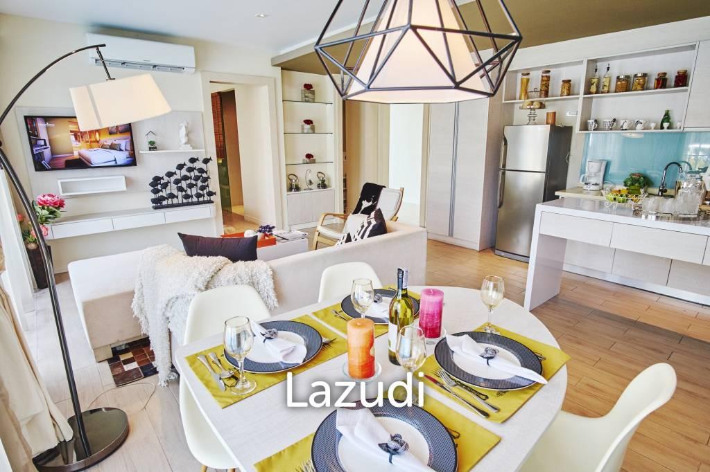 2 bed 63.85sq.m Seven Seas Condo Resort Jomtien