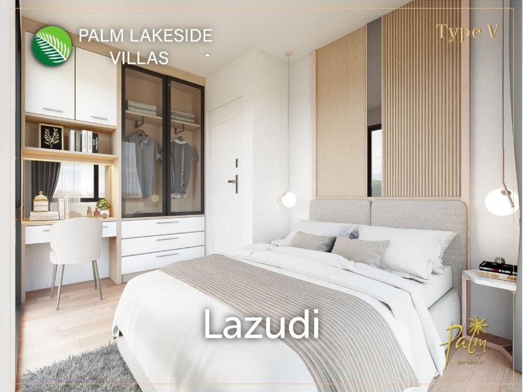 3 bed 284.87sq.m Palm Lakeside Villas
