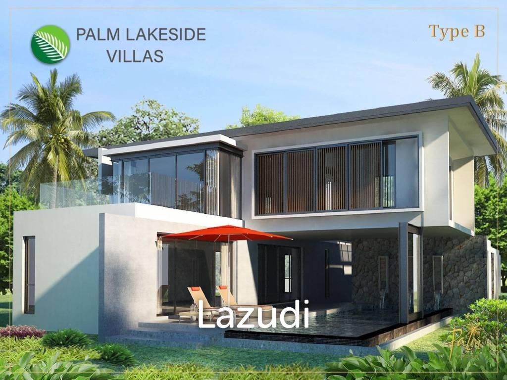4 bed 401sq.m Palm Lakeside Villas