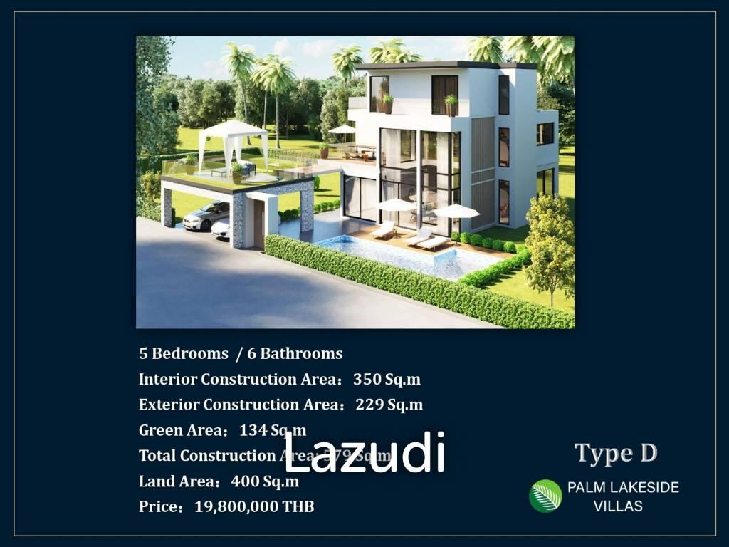 6 bed 579sq.m Palm Lakeside Villas