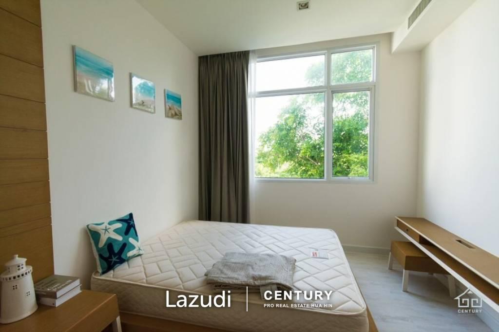 3 Bed 171 Sqm Ocas Hua Hin Condominium : Luxurious Penthouse  beachside