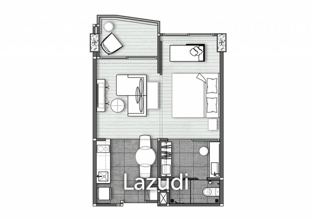 1 Bed 43.89SQM Veranda Residence Hua-Hin