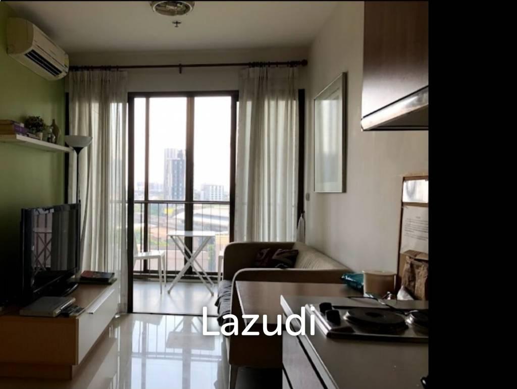 Studio 37 sqm Ideo Mix Sukhumvit 103 For Sale and Rent