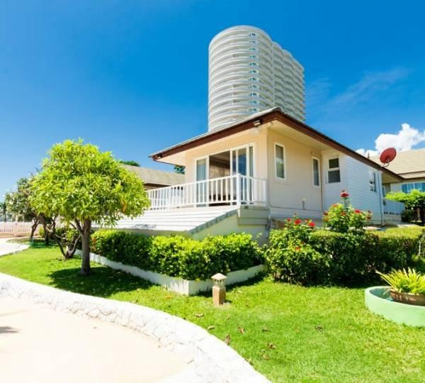 BAAN TALAY SAMRAN : Absolute Beachfront Villa in Cha-am