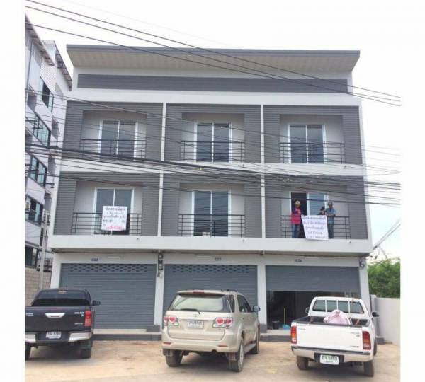 Modern Commercial Building 3 Storey in Hua Hin