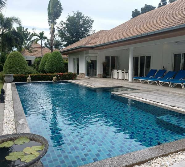 ORCHID PALM HOMES 5 : Luxury 3 Bed Pool Villa