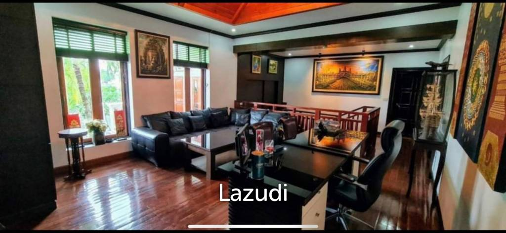 Stylish villa with very big pool near Charknok Lake for SALE
