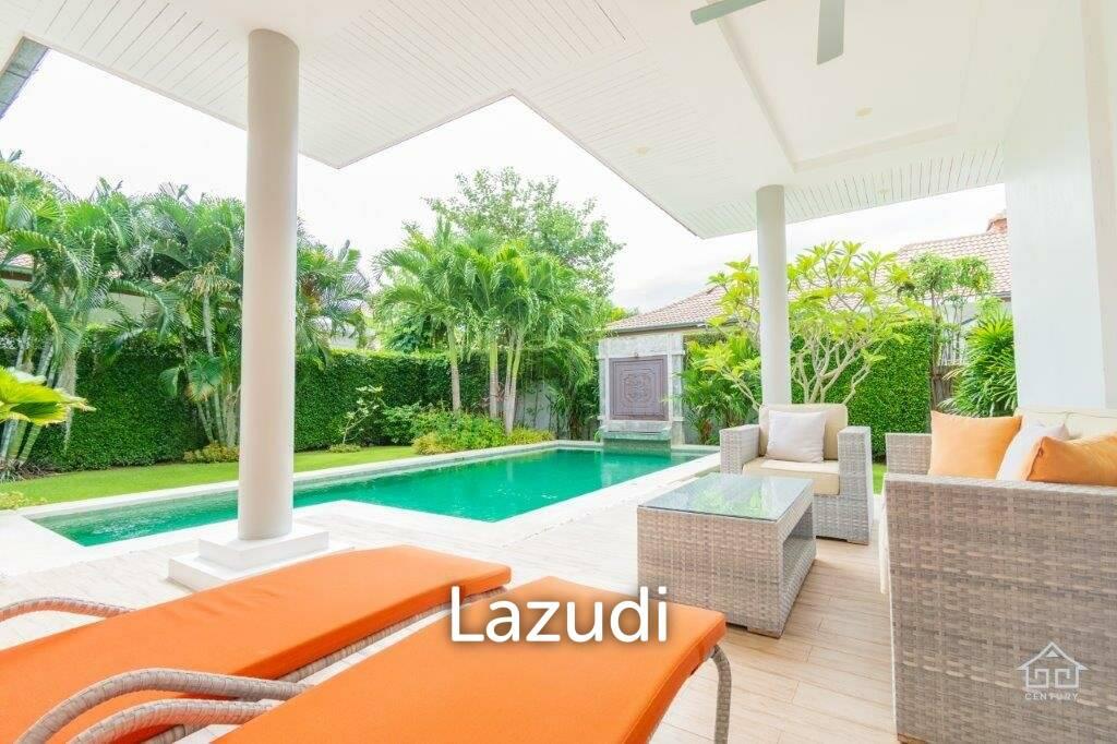 3 Bed Luxury Pool Villa