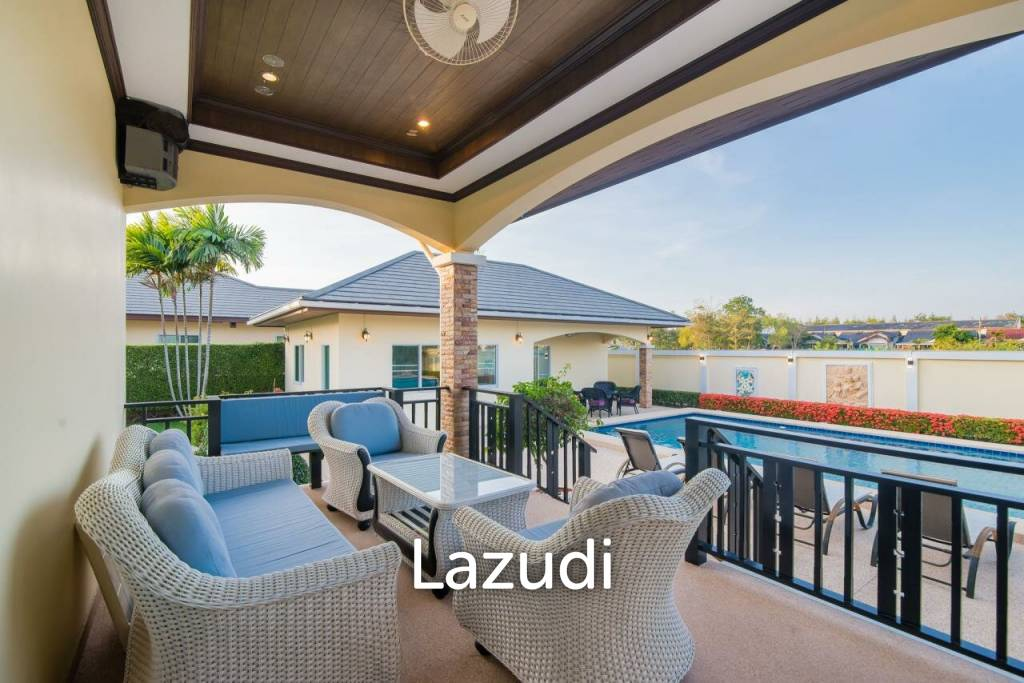Outstanding Large Luxury Pool Villa - Central Cha Am