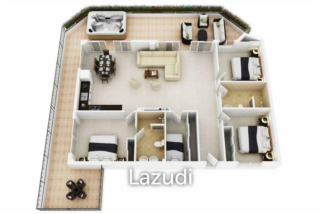 Large penthouse - Pattaya
